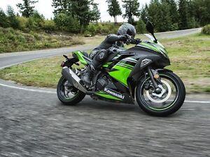 2016 Kawasaki Ninja 300  Kawasaki Racing Team Edition
