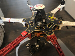 DJI F550 with GOPRO and 3 axis Gimbal