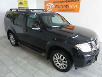 Black Nissan Pathfinder 2.5dCi Auto ***FROM £225 PER MONTH***