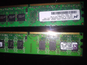 RAM DDR2 1GB × 2 FOR SALE BEST OFFER London Ontario image 3