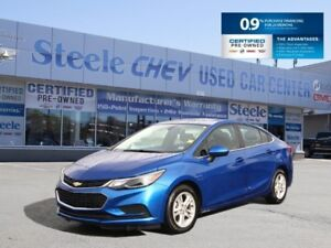 2018 CHEVROLET CRUZE LT - Alloys, Moonroof, Bluetooth and 0% INT