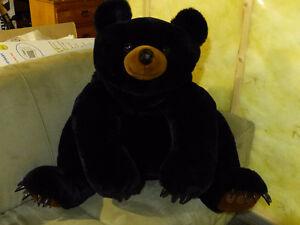 Big Stuffed Black Bear