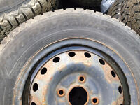 Goodyear Nordic Winter 195/70r14 with rims 4x114.3