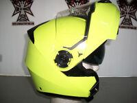 TORC HI-VIS Yellow Avenger, Modular With Sun Lens.