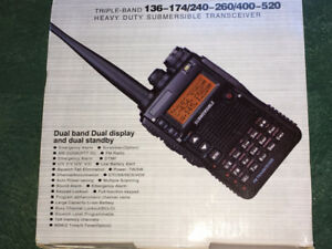 Brand new Triple-Band Heavy Duty Submersible Transceiver