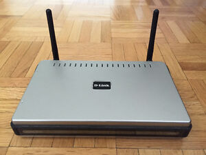d-link DIR 625 wireless router