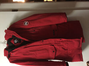 Canada Goose Winter Jacket (Red)