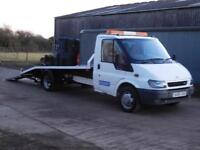 2006 06 Reg Ford Transit 2.4TD 90PS 350 LWB Recovery Truck (Roger Dyson Body)