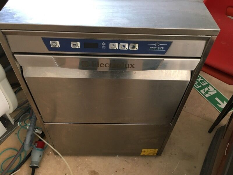 electrolux glasswasher. electrolux commercial dishwasher / glasswasher