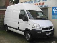 2008 VAUXHALL MOVANO 3500 2.5CDTI 120ps MWB Maxi Roof Diesel Van