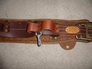 From Estate - New Klein 5278 - 26D  LIneman's Body Belt + free London Ontario image 4