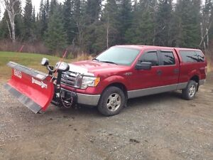 2009 F150 with Boss Plow