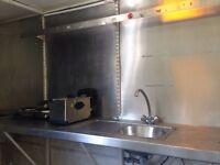 Catering trailer/burger van (Double axle, Elec test cert)