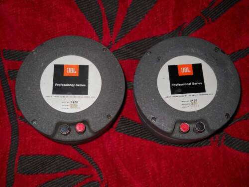 COPPIA 2420 JBL drivers ALNICO no ALTEC
