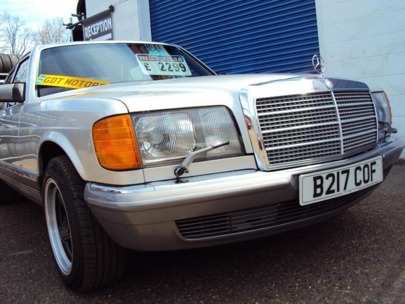 """Mercedes W126 380 SE V8 Petrol -1985 Year """"B"""" Reg-£1,999"""