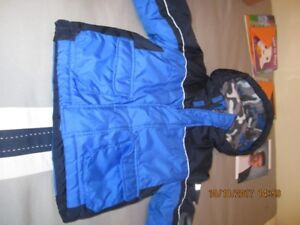 TODDLERS WINTER JACKET - SIZE 24 MONTHS.