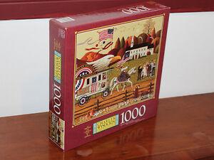 Charles Wysocki's Americana 1000 Piece Puzzle So Proudly We Hail Edmonton Edmonton Area image 1