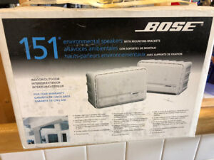 BOSE outdoor speakers never opened