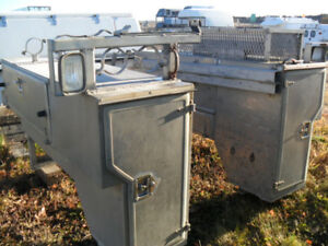 Used Short  Box Slide-in Tool Box with Lots of Compartments