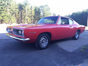 1967 Plymouth Barracuda.  Ready to cruise!