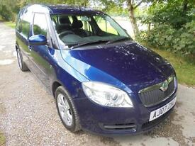 Skoda Roomster 1.4TDI PD ( 80bhp ) 2 VERY PRACTICAL ECONOMICAL LOW RUNNING COSTS