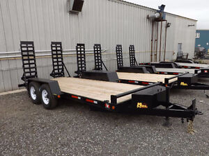 Miska 7 and 10 Ton Low Bed Float Trailers