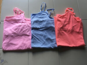 3x girls Cami's from Justice in size 18 (fits more like 16)