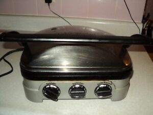 Cuisinart Panini / Grill and Griddler