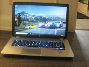 "17.3"" HP Gaming Laptop, Intel i7, 8GB RAM, 2 GeForce GT 750, DVD"