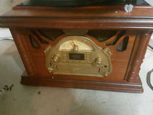 Pyle Vintage Style Record Player