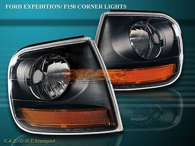 1997 1998 1999 2000 2001 2002 2003 FORD F150/EXPEDITION BLACK CORNER LIGHTS 02 Ford Expedition Corner