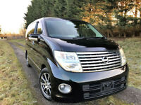 FRESH IMPORT 2005 FACE LIFT NISSAN ELGRAND HIGHWAY STAR V6 4WD AUCTION GRADE 4