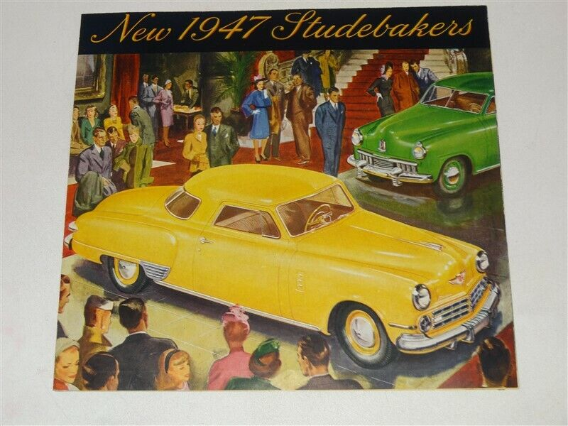 1947 Studebaker Fold-Out Color Brochure