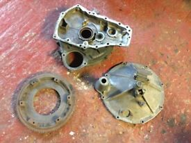 Classic mini flywheel housing and clutch cover