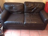 Free 2 seater sofa settee COLLECTION ONLY!