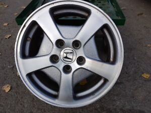 03-08 HONDA ACCORD 16in aluminum rims 5 lugs or any honda 16 in
