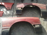 Fs: Capri RS foxbody fenders + set of fender flares