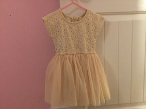 Taylor Joelle cream and lace dress size 2