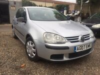 VOLKSWAGEN GOLF 1.4 2007, AUDI A3, Ford Focus, Vauxhall astra, BMW 1 series