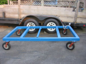 18' Dual Axel Flat Deck Trailer