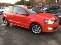 Volkswagen Polo 1.2 MATCH EDITION (red) 2013