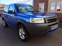 Land Rover Freelander 1.8I S HARDBACK (blue) 2002
