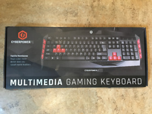CyberPower PC Multimedia Gaming Keyboard (NEW)