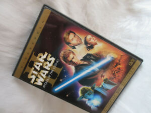 dvd Star Wars attack of the clones digitally for superior sound