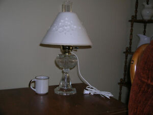 "Electric ""oil"" lantern with shade Kitchener / Waterloo Kitchener Area image 1"