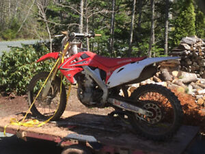 Blown up 2010 crf 250r