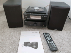 Hitachi micro hifi system with DAB radio