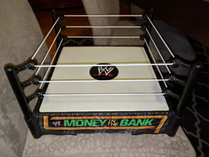 WWE MONEY IN THE BANK WRESTLING RING