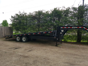 24 ft.   PJ   trailer