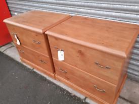 Pair of Ex-Display O'Sullivan Files Cabinets